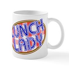 Lunch Lady Design Mugs
