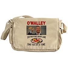 TAX CRAZY Messenger Bag