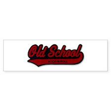 OLD SCHOOL Rock-N-Roll Bumper Car Sticker