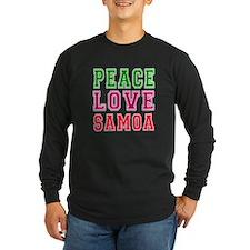Peace Love Samoa T