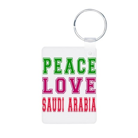 Peace love saudi arabia keychains by shivateez for Aluminum kitchen cabinets saudi arabia