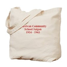 American Community School Saigon 1954 - 1965 Tote