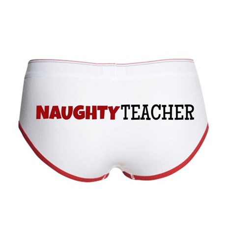 Naughty Teacher Women's Boy Brief