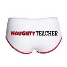 Naughty Teacher Women's Boy Brief