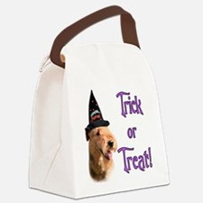 Airedale TerrierTrick.png Canvas Lunch Bag