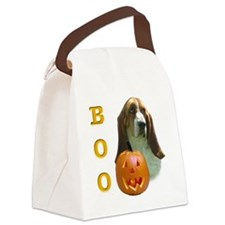 BassetBoo2.png Canvas Lunch Bag