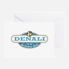 Denali National Park Greeting Cards