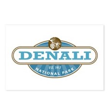 Denali National Park Postcards (Package of 8)