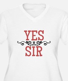 Yes Sir Plus Size T-Shirt