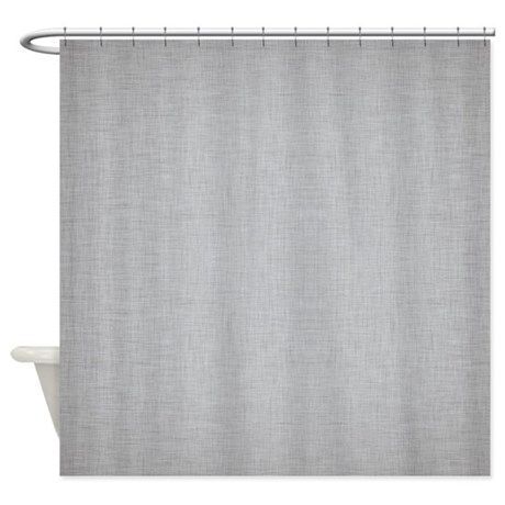 Fancy Curtains For Home White Grey Shower Curtain