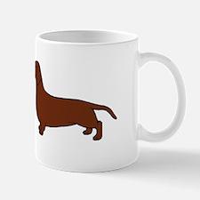 Mug: I Love Dachshunds
