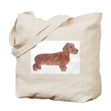 Tote Bag: Wirehaired Dachshund