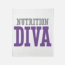 Nutrition DIVA Throw Blanket