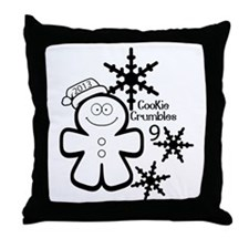 Cookie Crumbles 9 2014 (2) Throw Pillow