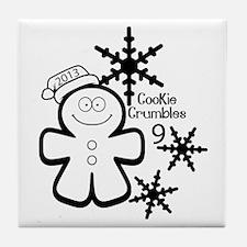 Cookie Crumbles 9 2014 (2) Tile Coaster
