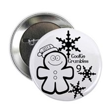 """Cookie Crumbles 9 2014 (2) 2.25"""" Button"""