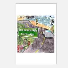 End of the World 8 Mile Postcards (Package of 8)