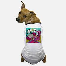 A Brain Under Analysis Dog T-Shirt