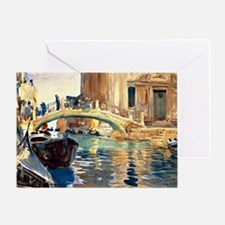 Sargent - Ponte San Giussepe di Cast Greeting Card