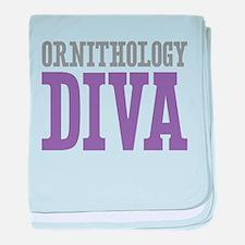 Ornithology DIVA baby blanket