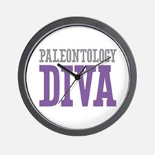 Paleontology DIVA Wall Clock