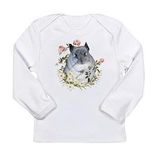 ChinRose.png Long Sleeve Infant T-Shirt
