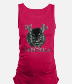 ChinchillaObey.png Maternity Tank Top