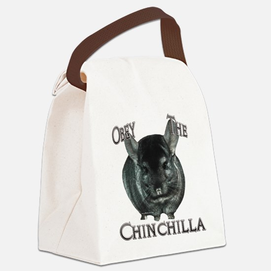 ChinchillaObey.png Canvas Lunch Bag