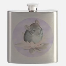 Chin Lily Purple Flask