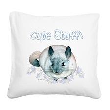 Chin Cute Square Canvas Pillow