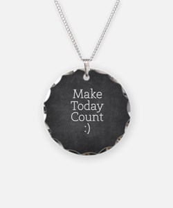 Chalky Make Today Count Necklace