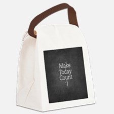 Chalky Make Today Count Canvas Lunch Bag