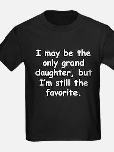 Only Granddaughter T-Shirt
