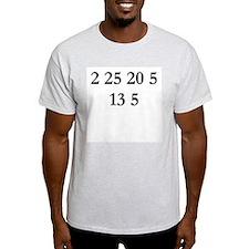 Byte Me Code Ash Grey T-Shirt