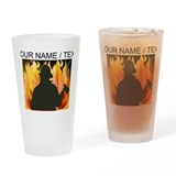 Firefighter personalized Pint Glasses
