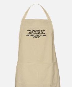 Cute Daylight savings Apron