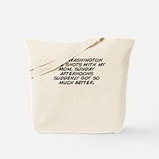 Unique Washington apple Tote Bag