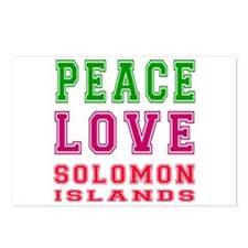 Peace Love Solomon Islands Postcards (Package of 8