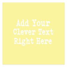 Add Text Background Lemon Yellow Invitations