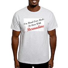 In Love with Bernadine Ash Grey T-Shirt