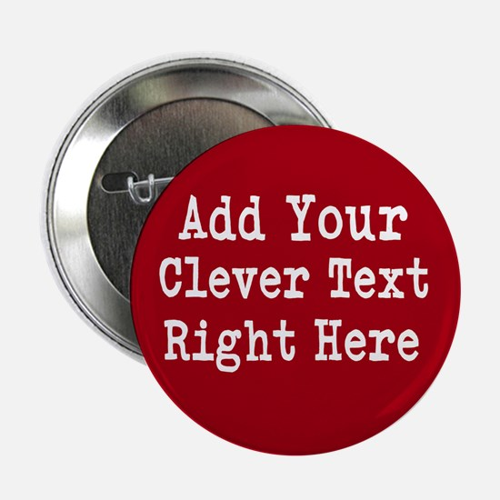"""Add Text Background Red 2.25"""" Button"""