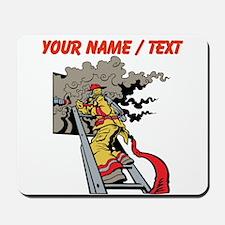 Custom Firefighter Mousepad