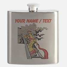 Custom Firefighter Flask