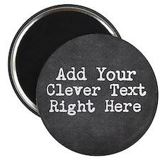Chalkboard template Magnets