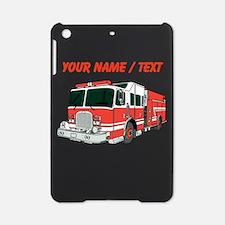 Custom Red Fire Truck iPad Mini Case