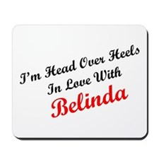 In Love with Belinda Mousepad