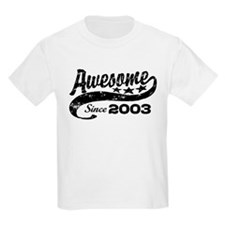 Awesome Since 2003 T-Shirt