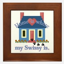 Greater Swiss Mtn Dog Framed Tile