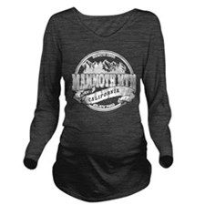 Mammoth Mtn Old Circle Black Long Sleeve Maternity