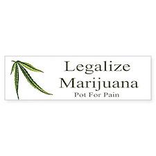 Legalize Marijuana Bumper Bumper Sticker